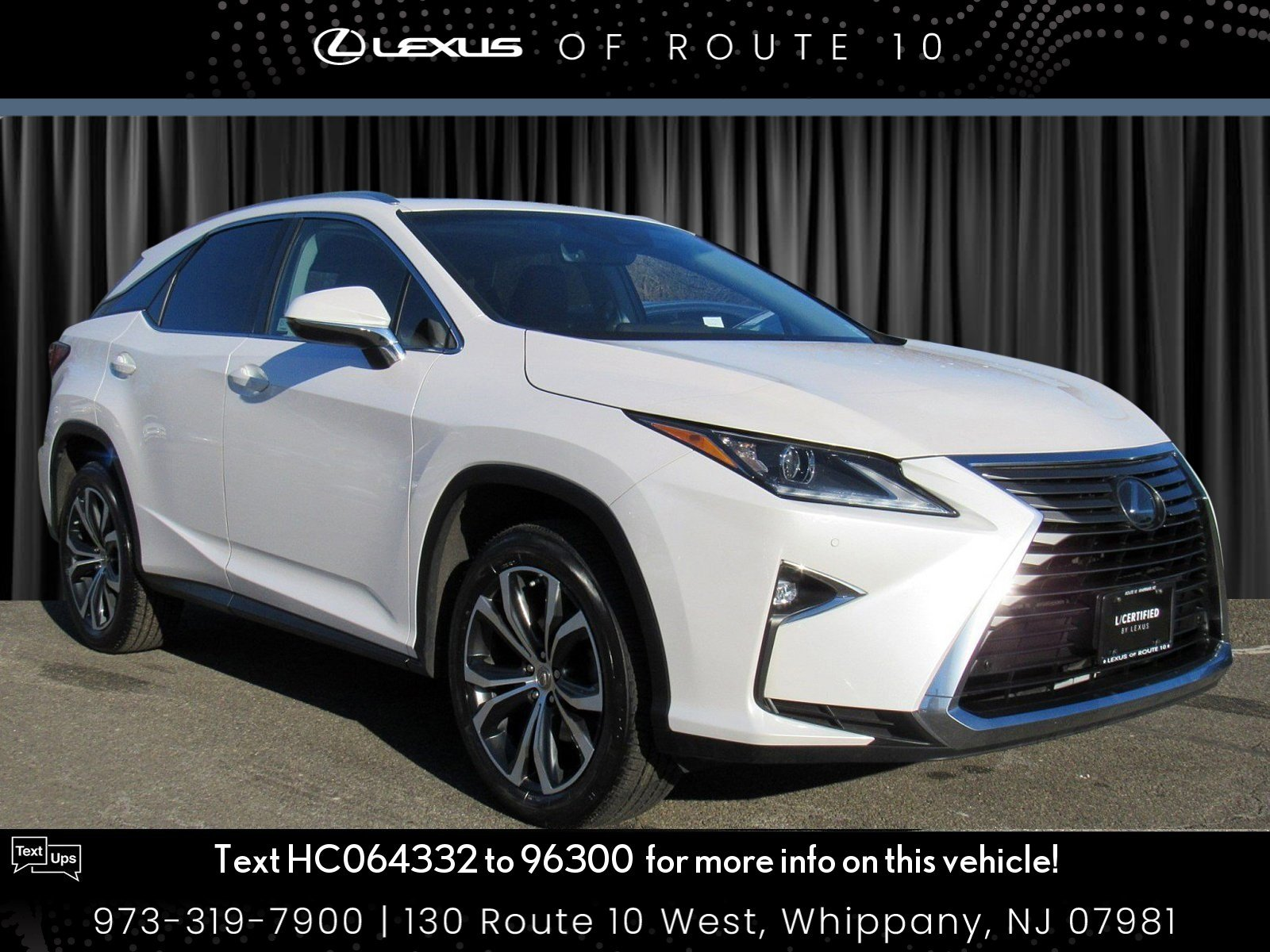 Certified Pre-Owned 2017 Lexus RX RX 350