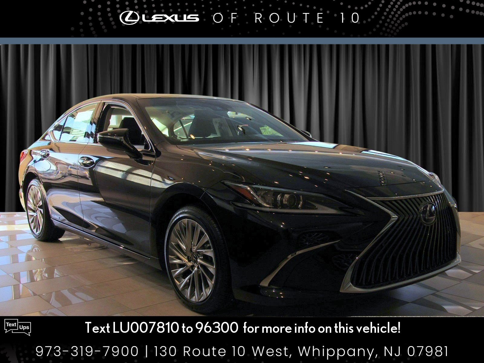 New 2020 Lexus ES 300h ES 300h Luxury