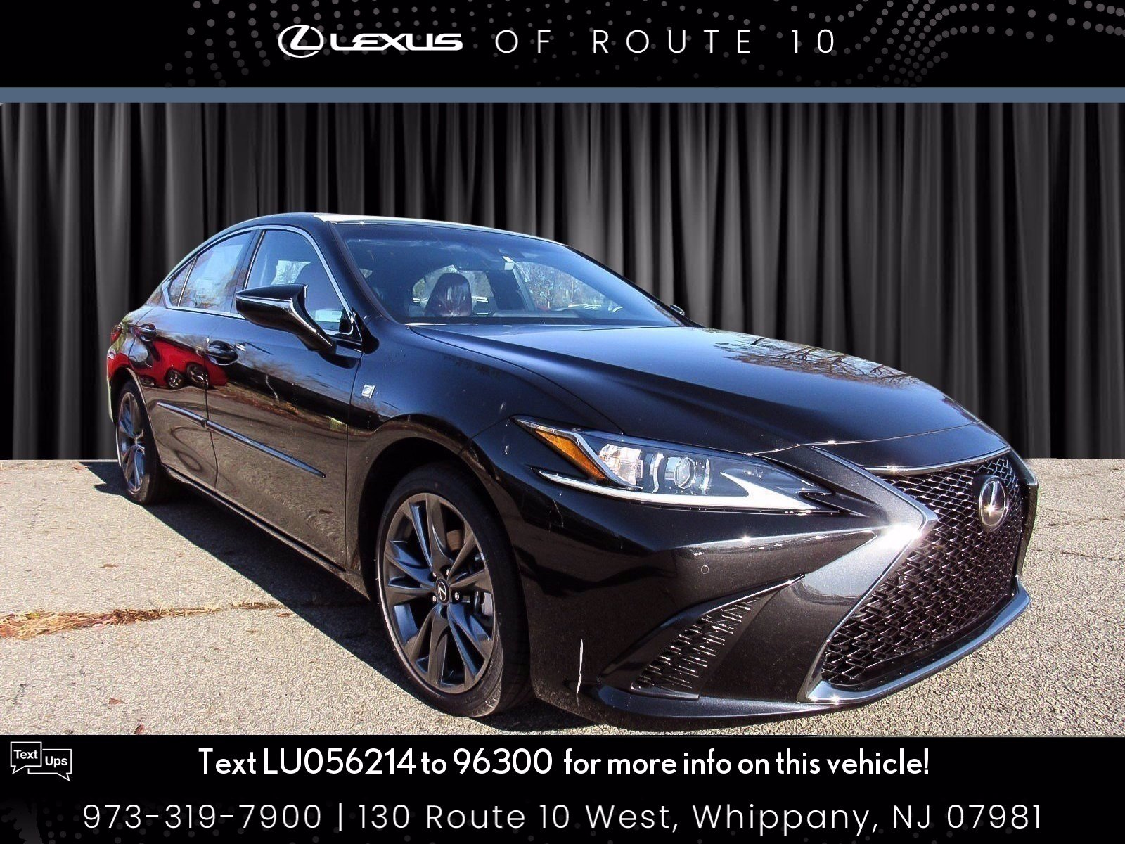 New 2020 Lexus Es Es 350 F Sport 4dr Car In Whippany Llu056214 Lexus Of Route 10