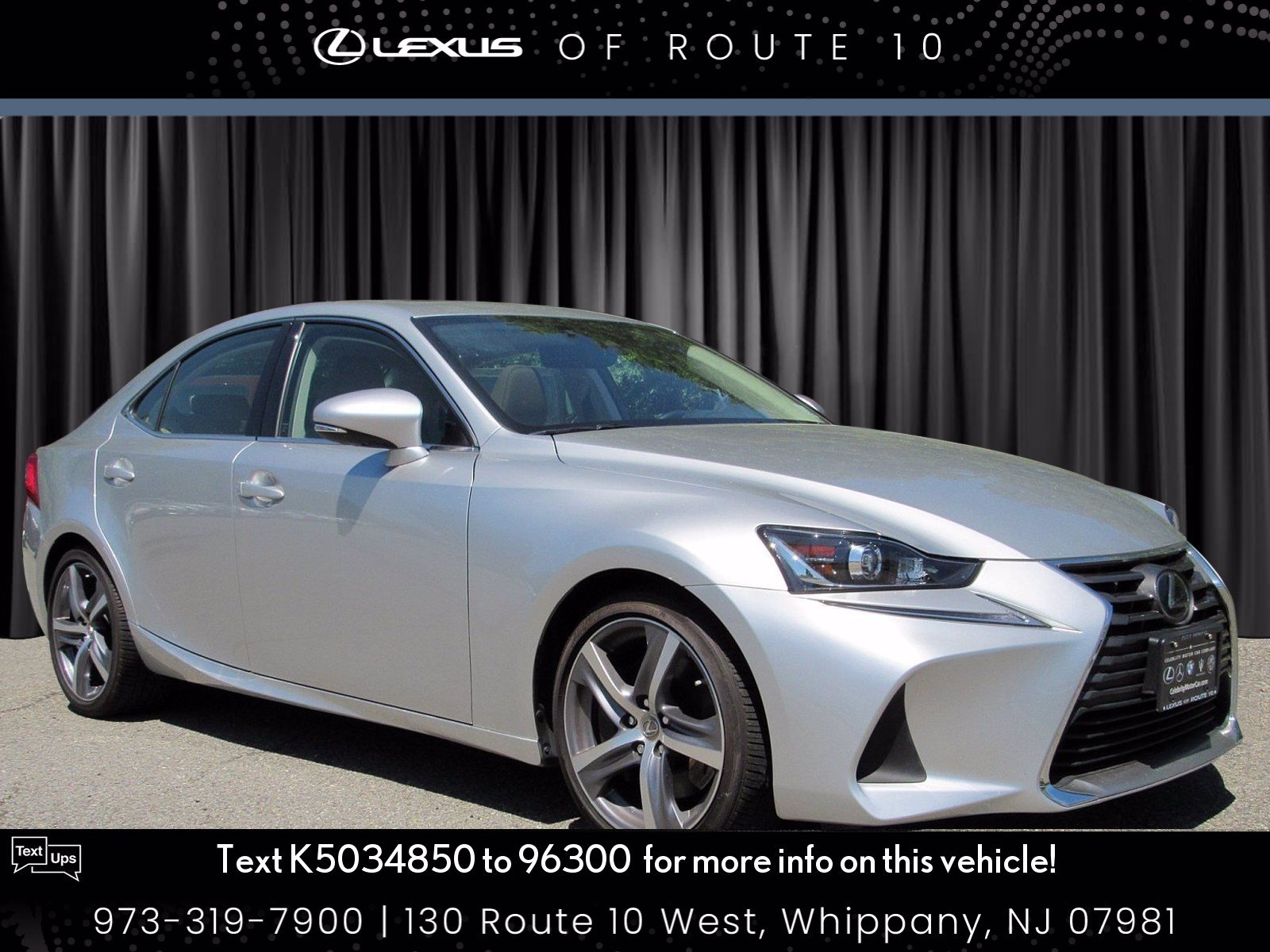 Certified Pre-Owned 2019 Lexus IS IS 300