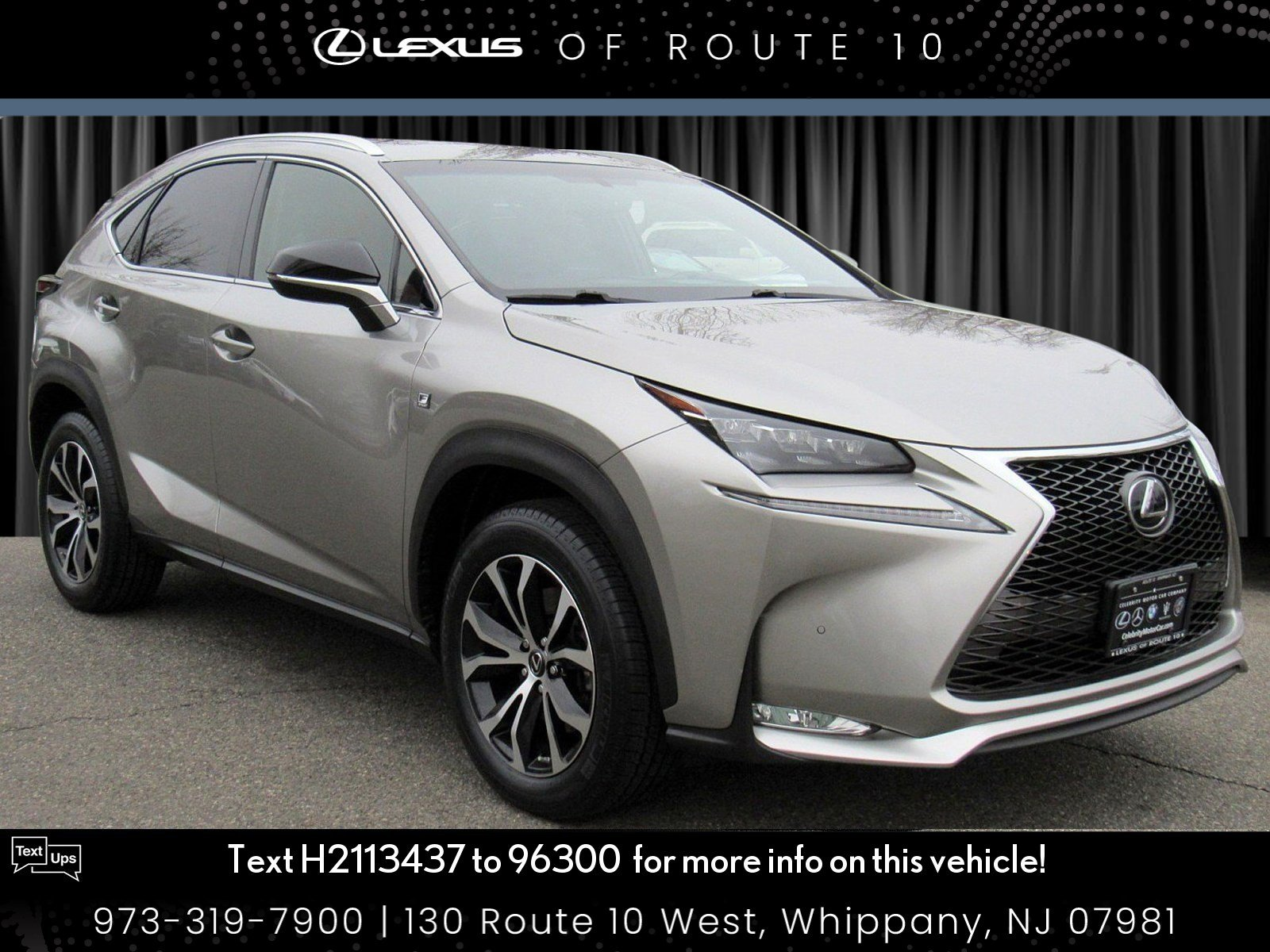 Certified Pre-Owned 2017 Lexus NX NX Turbo F Sport