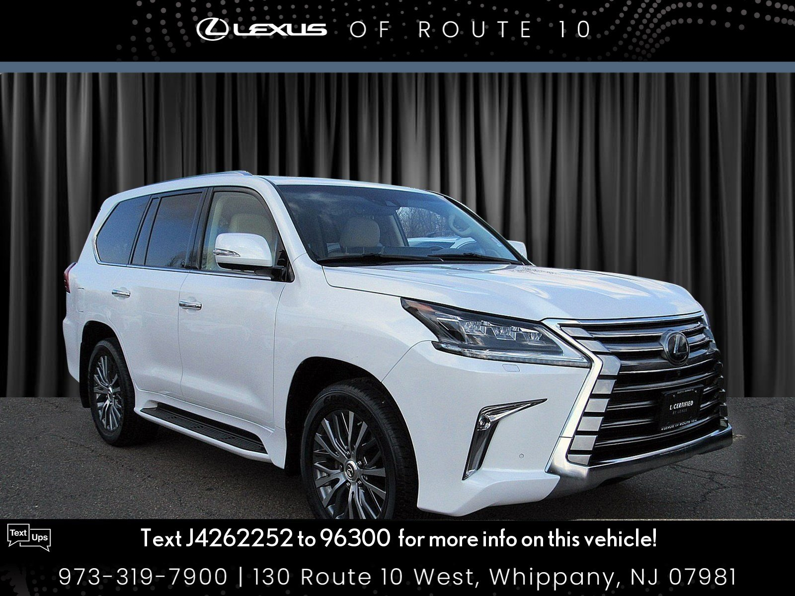 Certified Pre-Owned 2018 Lexus LX LX 570