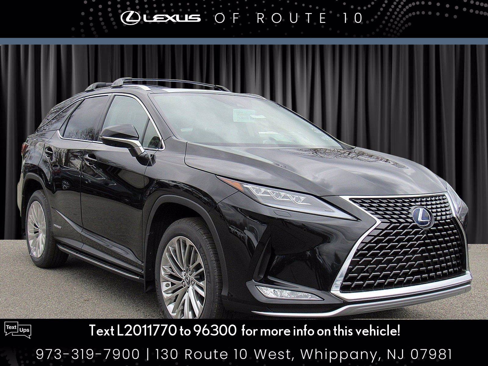 New 2020 Lexus RX 450hL RX 450hL Luxury