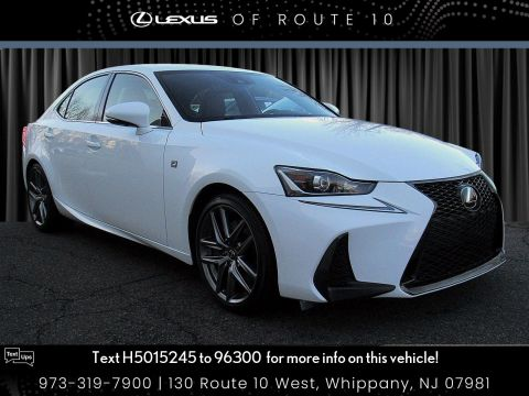 Certified Pre-Owned 2017 Lexus IS IS 300 F Sport