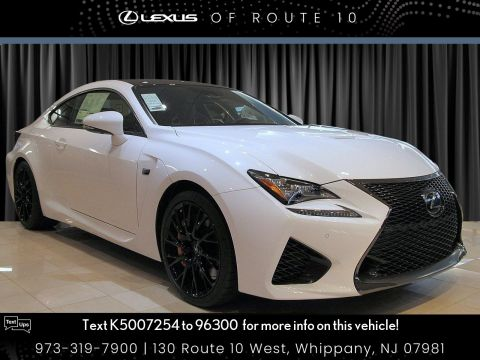 New 2019 Lexus RC F Featuring a 467-hp V8 engine,[PREMIUMFUEL] Brembo® high-performance front brakes,[BRAKESHF3] and a standard F-Adaptive Variable Suspension, the RC F was compulsively engineered to the extreme.